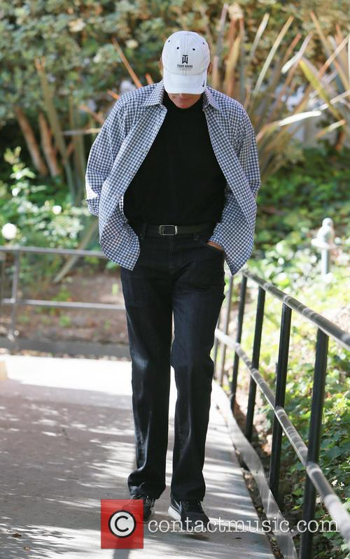 Kris Jenner and Bruce Jenner arrive at Church