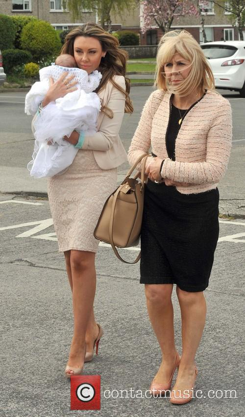 Christening of Michelle Heatons son AJ