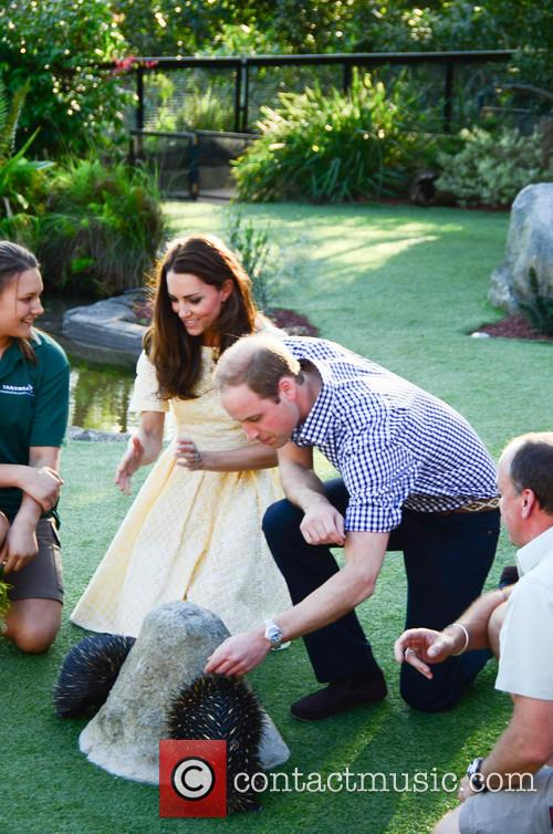 Prince William and Catherine, Duchess of Cambridge visit...