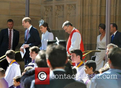 Prince William, Catherine and Duchess Of Cambridge 1