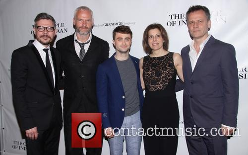 Daniel Radcliffe, Martin Mcdonagh, James Bierman, Arielle Tepper Madover and Michael Grandage 7