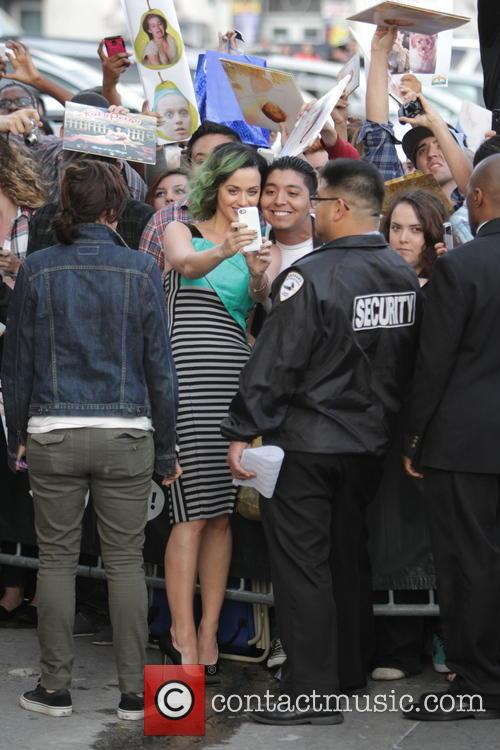 Katy Perry Leaves Jimmy Kimmel Live!