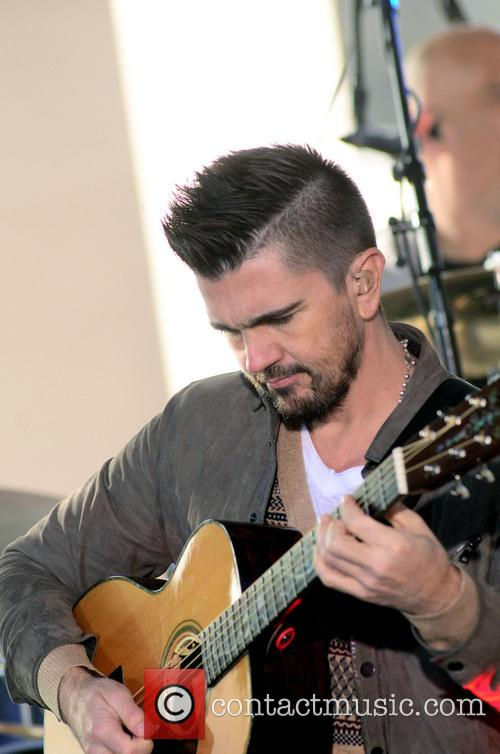 Juanes performing live on the 'Today' show