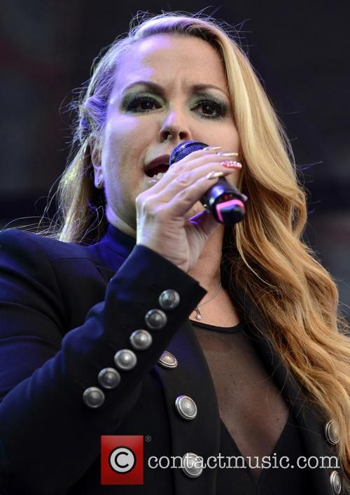 Anastacia performs live