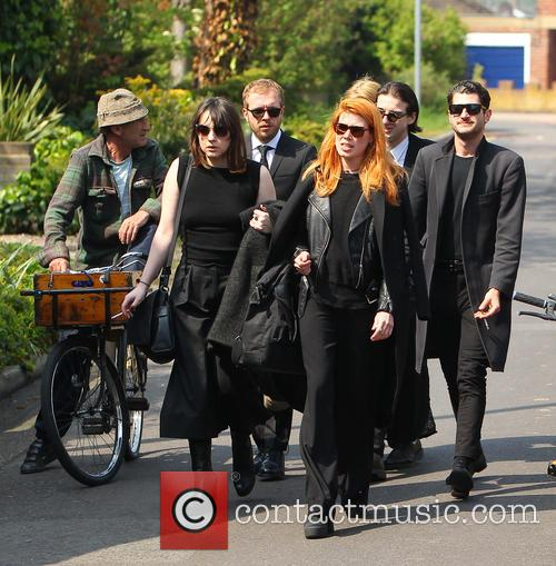 Peaches Geldof and Mourners 4