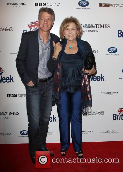 Brenda Vaccaro and Guy Hector