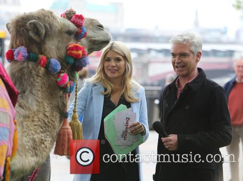holly willoughby phillip schofield celebrities at the itv 4163535