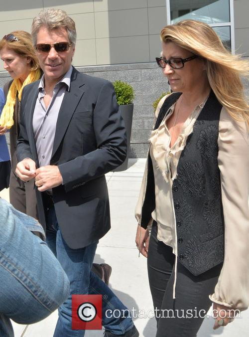 Jon Bon Jovi and Dorothea Jovi 2