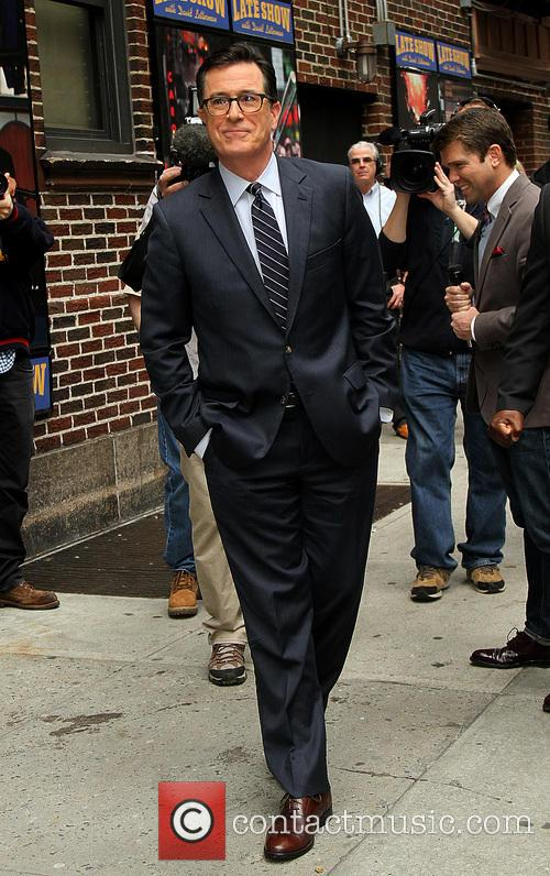 stephen colbert late show with david letterman 4164387
