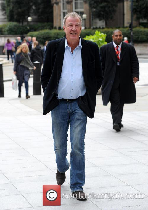 Jeremy Clarkson pictured at the BBC