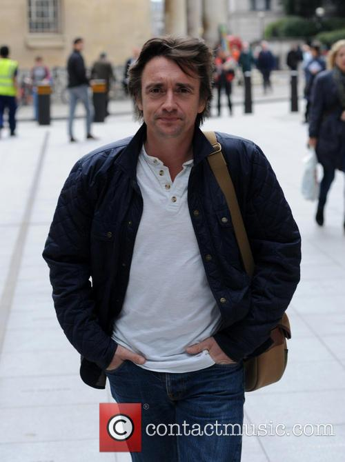Richard Hammond pictured at the BBC