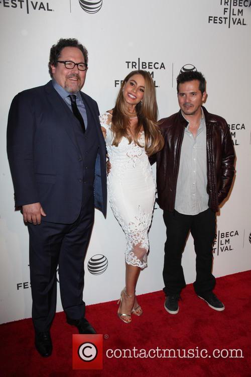 Jon Favreau, Sophia Vergara and John Leguizamo 4