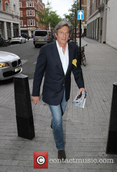 Nigel Havers Arrives For 'The One Show'