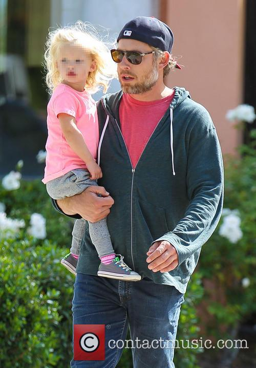 Eric Johnson goes out to breakfast with daughter...