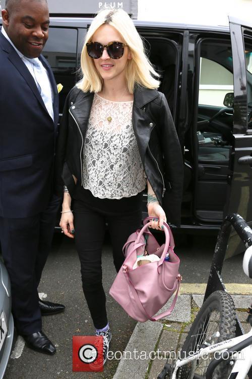 Fearne Cotton arrives for Celebrity Juice