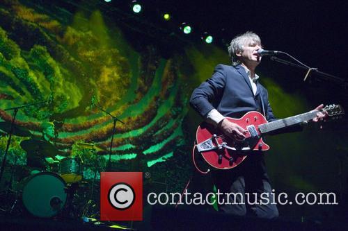 Neil Finn performs in Scotland