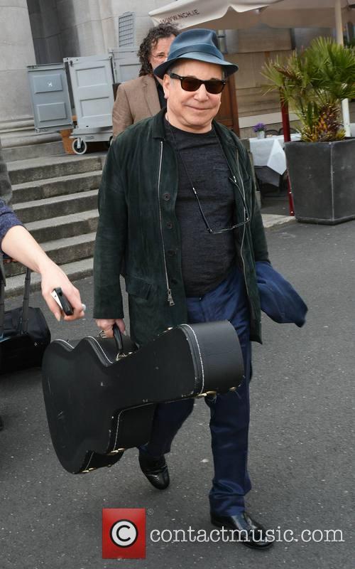 Paul Simon Walking in Dublin