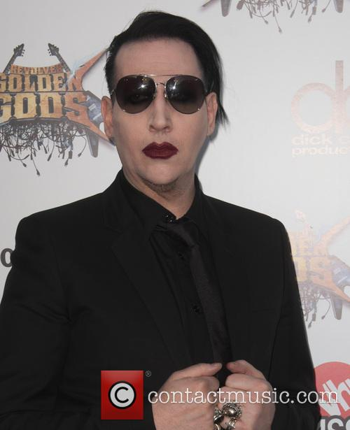 Marilyn Manson At The Golden Gods Awards