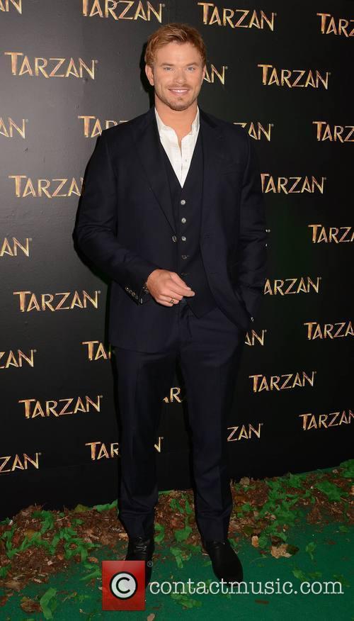Kellan Lutz Tarzan Premiere