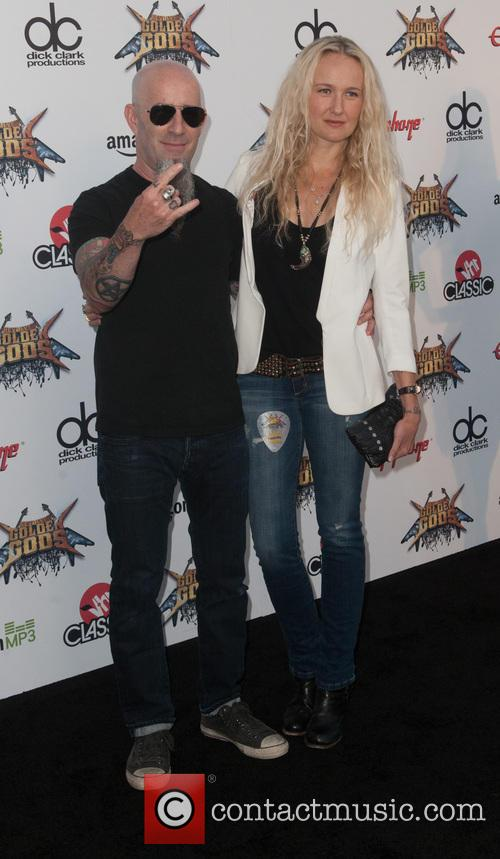 Pearl Aday and Scott Ian 1