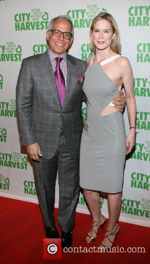 Geoffrey Zakarian and Stephanie March