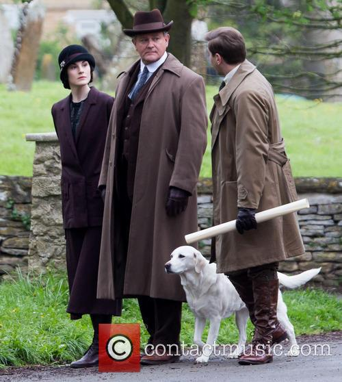 Michelle Dockery, Allen Leech and Hugh Bonneville 8