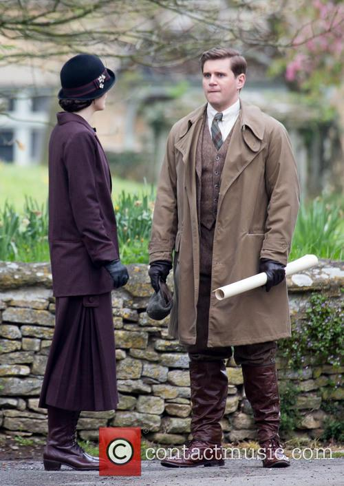 Michelle Dockery and Allen Leech 3
