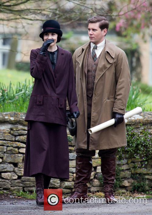Michelle Dockery and Allen Leech 4