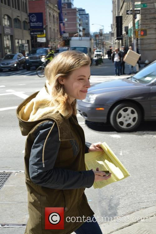 Gillian Jacobs in New York