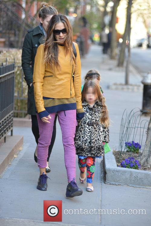 Sarah Jessica Parker, Sarah Jessica. Parker, Marion Broderick, Tabitha Broderick and James Broderick 3