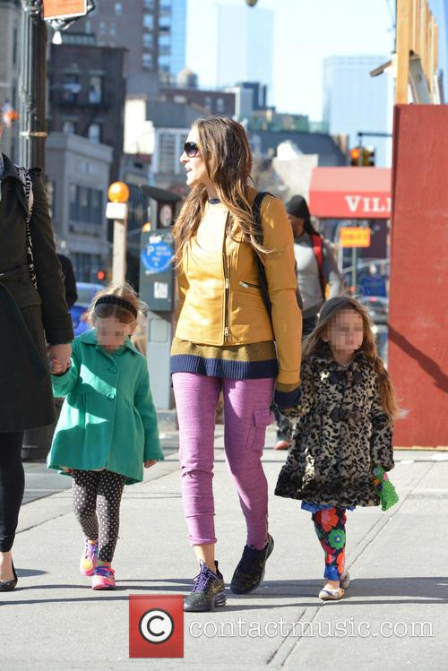 Sarah Jessica Parker, Sarah Jessica. Parker, Marion Broderick, Tabitha Broderick and James Broderick 4