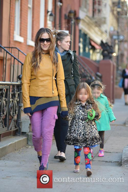 Sarah Jessica Parker, Sarah Jessica. Parker, Marion Broderick, Tabitha Broderick and James Broderick 8