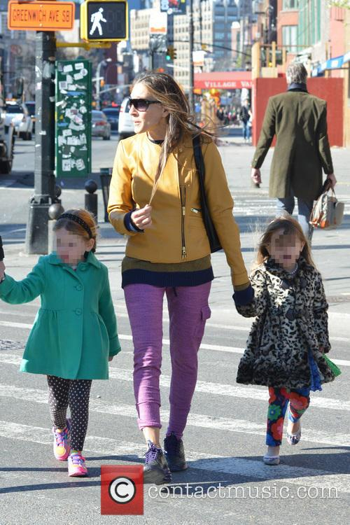 Sarah Jessica Parker, Sarah Jessica. Parker, Marion Broderick, Tabitha Broderick and James Broderick 11