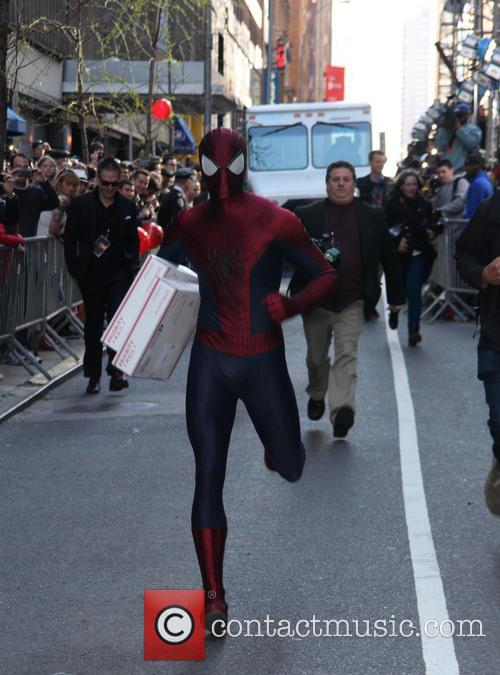 spider man the new york premiere of the 4168192