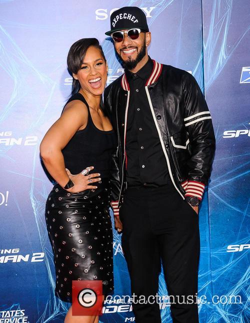Alicia Keys and Swizz Beatz 1