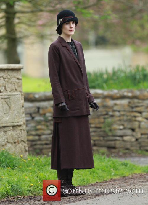 Downton Abbey cast film in Bampton