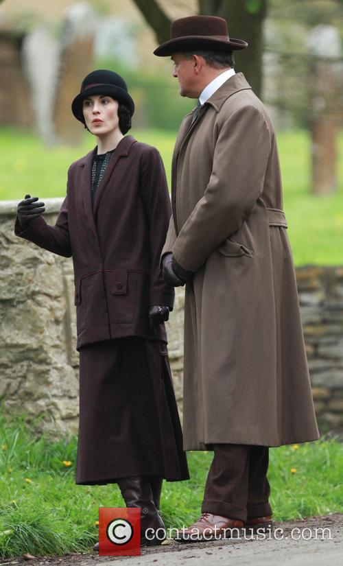 Michelle Dockery and Hugh Bonneville 5