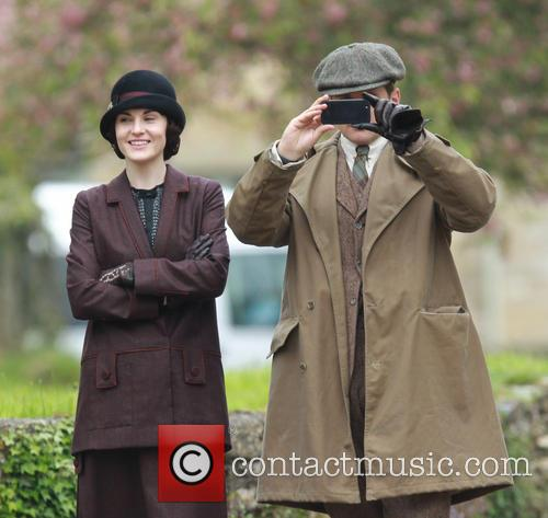 Michelle Dockery and Hugh Bonneville 7