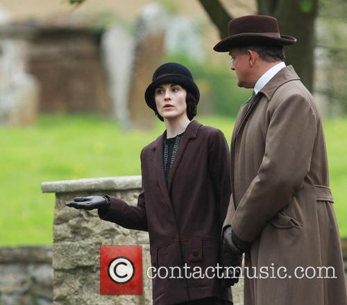 Michelle Dockery and Hugh Bonneville 8