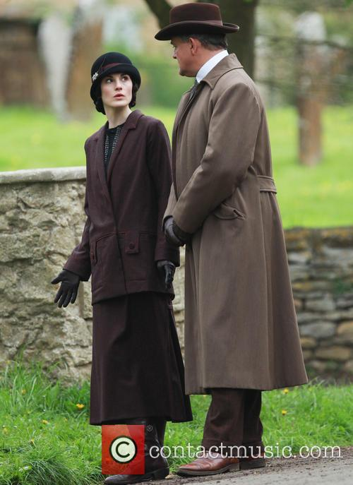 Michelle Dockery and Hugh Bonneville 9