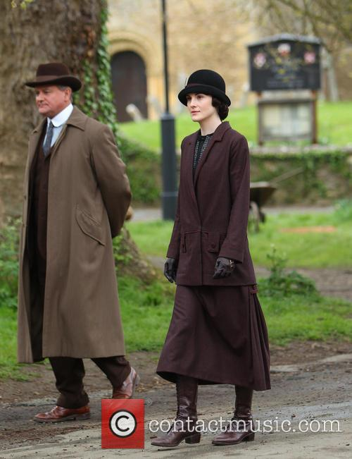 Michelle Dockery and Hugh Bonneville 24