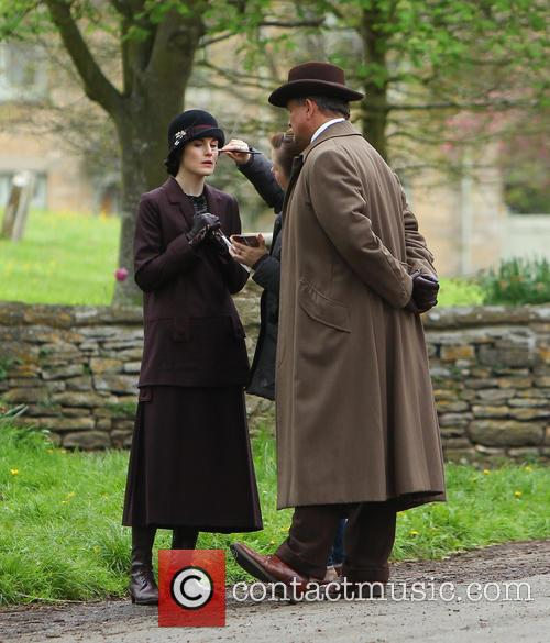 Michelle Dockery and Hugh Bonneville 25