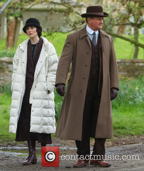 Michelle Dockery and Hugh Bonneville 28