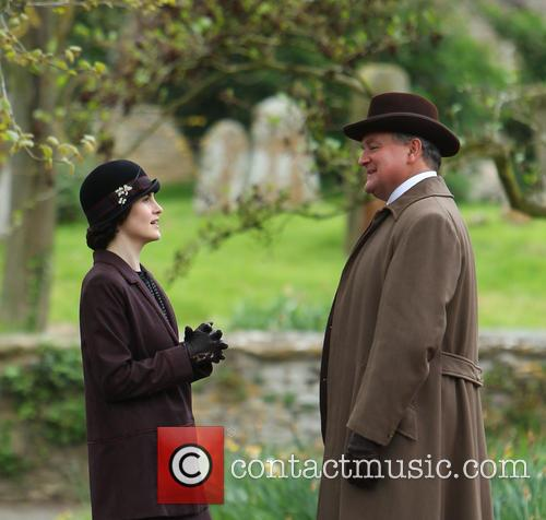 Michelle Dockery and Hugh Bonneville 1