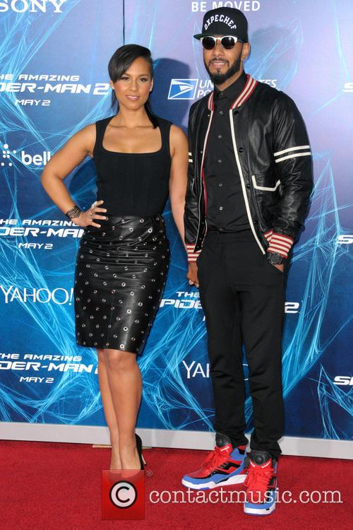 Alicia Keys and Swizz Beatz 2