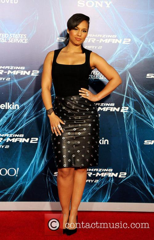 alicia keys the amazing spider man 2  4167515