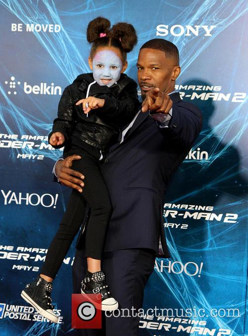 Annalise and Jamie Foxx 2