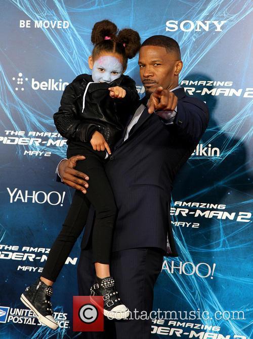 Annalise and Jamie Foxx 4