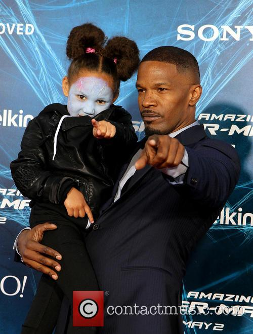 Annalise and Jamie Foxx 1