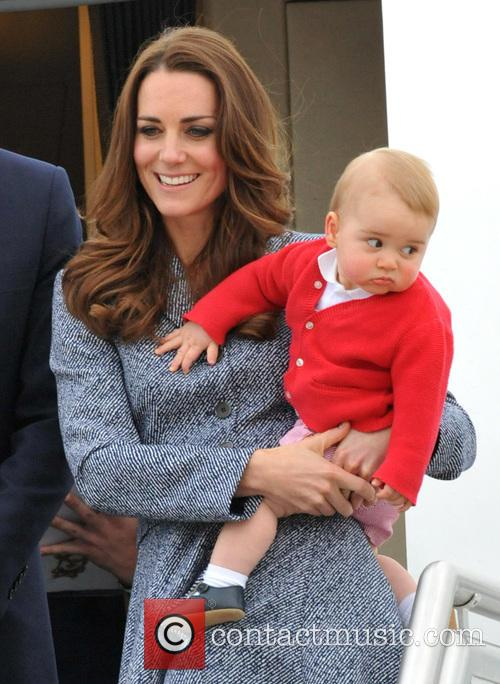 Catherine, Duchess Of Cambridge, Kate Middleton and Prince George 8